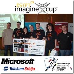 Članovi pobedničkog tima Brainwave iz Kragujevca