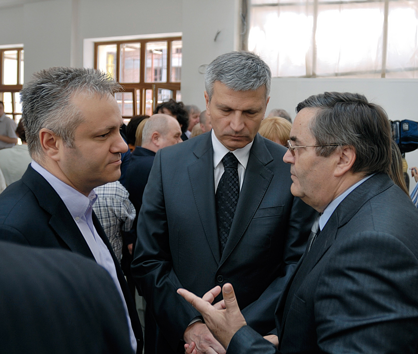 Mlađan Dinkić, Nebojša Bradić, Radoslav Zelenović
