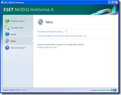 PCPress-NOD32-2. prvi ekran