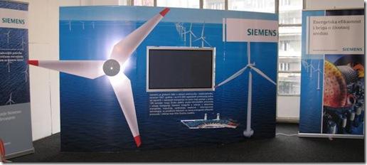 Siemens-ov štand na trećem Festivalu nauke
