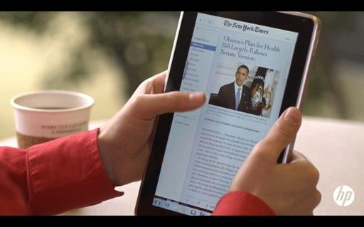 HP je sačekao da vidi šta će Apple iPad doneti, dobro uočio njegove nedostatke i ponudio sopstveno rešenje - Slate PC
