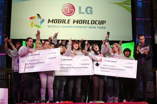 LG_Mobile Worldcup_Championship2009_Winners
