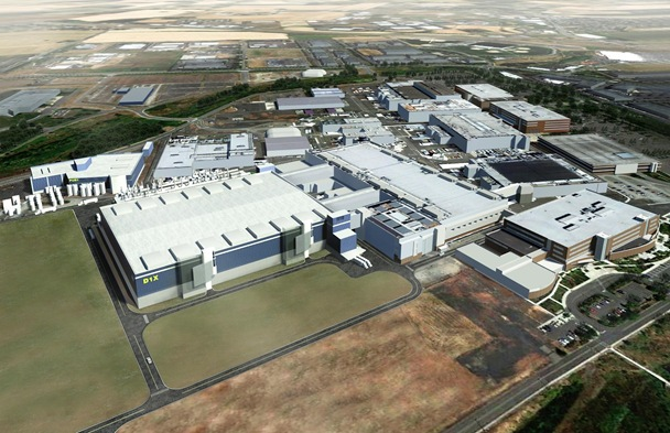 Planned Development Fab D1X at Intel's Ronler Acres Campus in Hillsboro Oregon