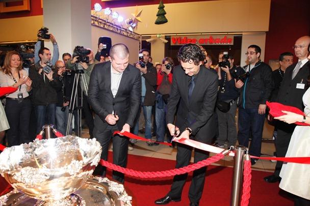 Achim Kuttler i Vladan Jankovic otvaraju HP prodavnicu